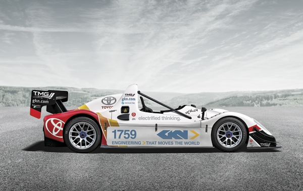GKN electric racer