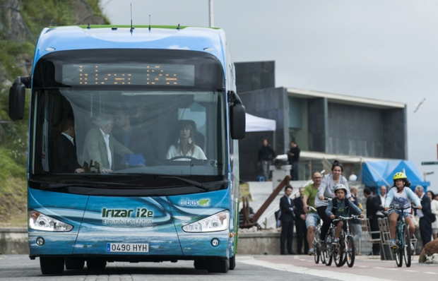 Irizar presents ist first 100% electric city bus