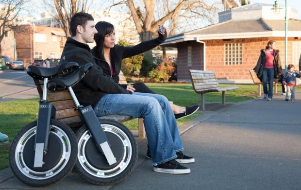 SBU monociclo eléctrico incorpora freno regenerativo