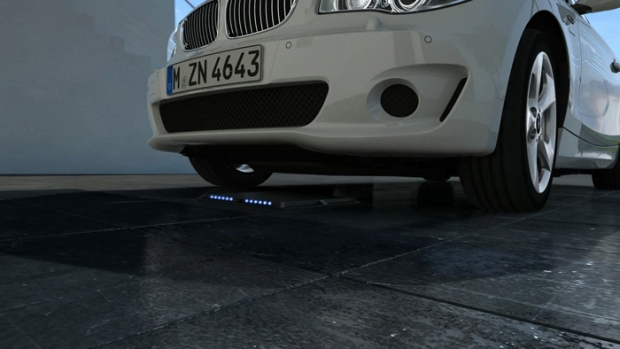 BMW goes for inductive charge