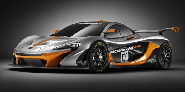 McLaren P1 GTR, only for racing tracks