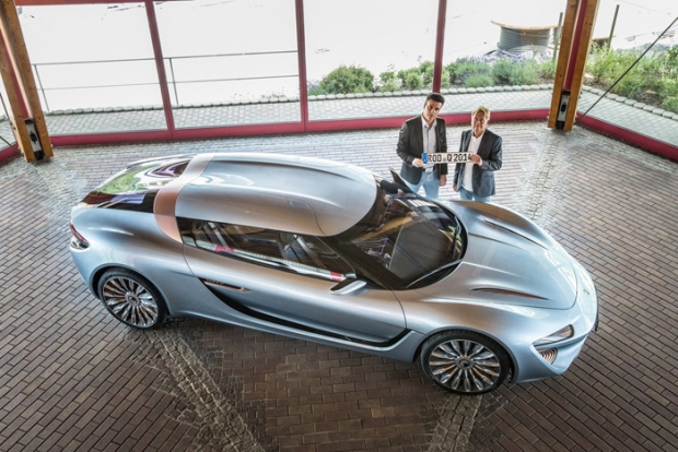 Quant e-Sportlimousine approved for public roads