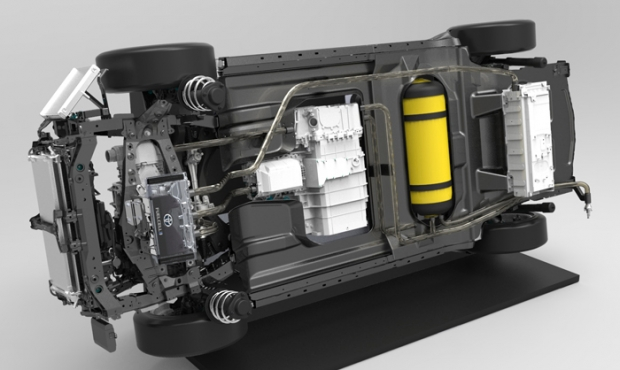 Toyota fabrica sus propios depósitos para hidrógeno