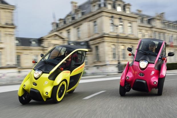 Toyota i-Road for Grenoble