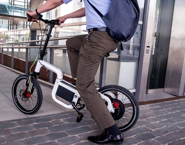 Klever Mobility, folding compact e-bike