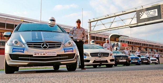 Mercedes Barcelona gana el ElectroSeries con su ECOteam