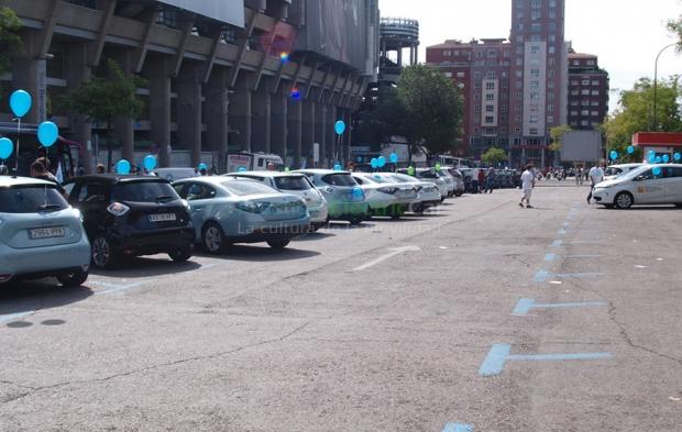 II Electric Vehicle Run in Madrid