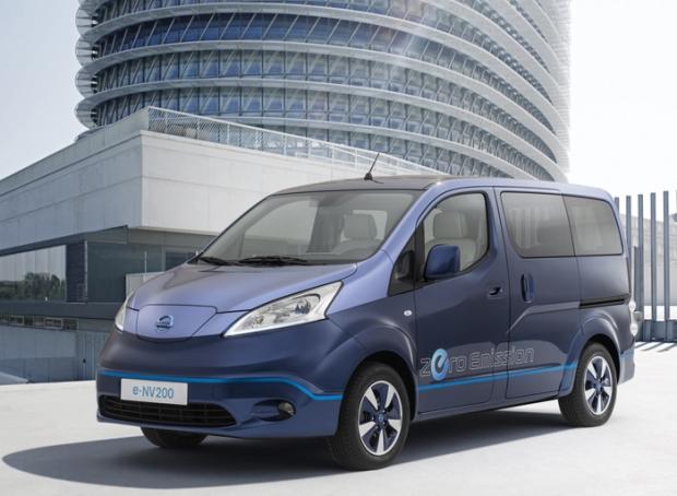 Nissan e-NV200 VIP Concept - para un viaje de lujo