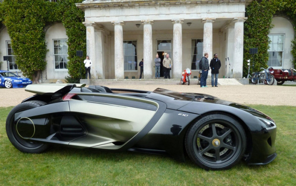 EL EX1 de Peugeot en Goodwood