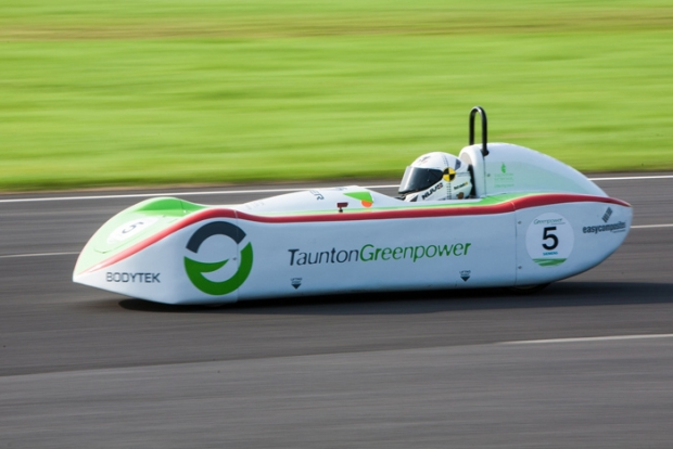 Greenpower Education Trust running in Goodwood