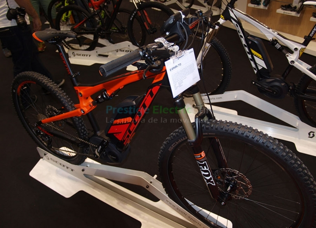 Scott E-Spark 710 mountain bike with electric technology