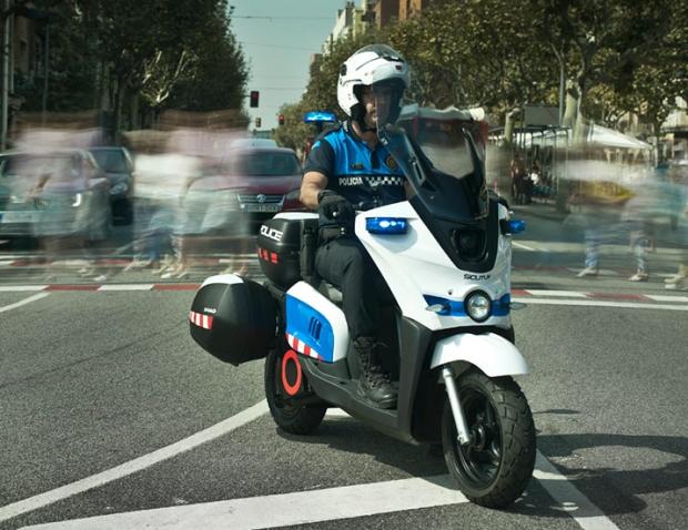 Scutum S02 Cargo versión policial