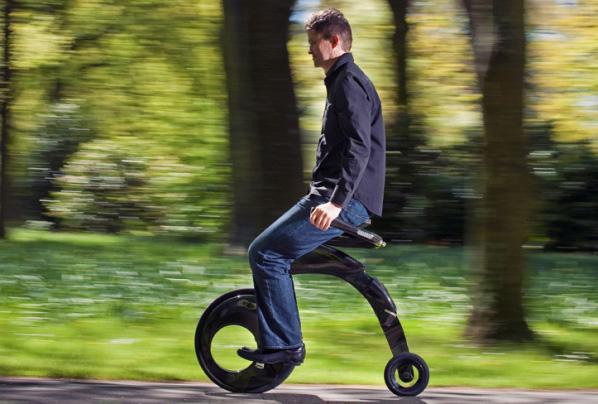 YikeBike – la bici más pequeña, ligera y plegable del mundo
