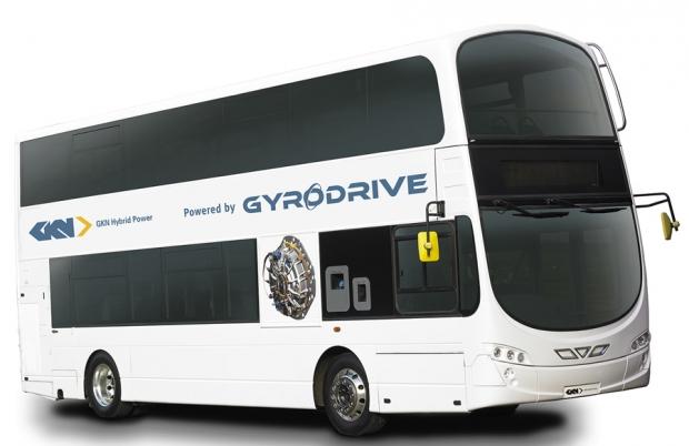 El volante de inercia GKN Land Systems para autobuses híbridos