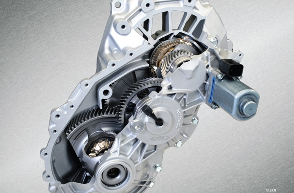 GKN presents two-speed electric axle eAxle