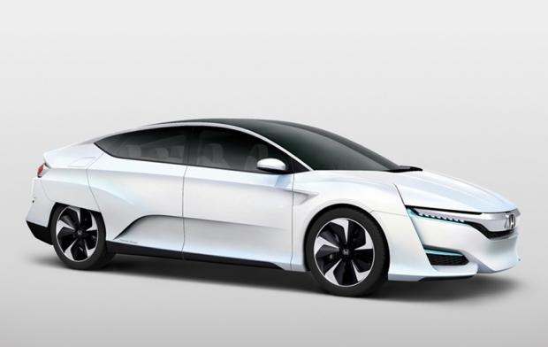 Honda FCV hidrógeno con salida de energía para otros menesteres