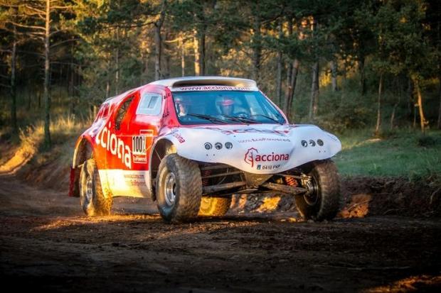 Acciona eléctrico para el Rally Dakar