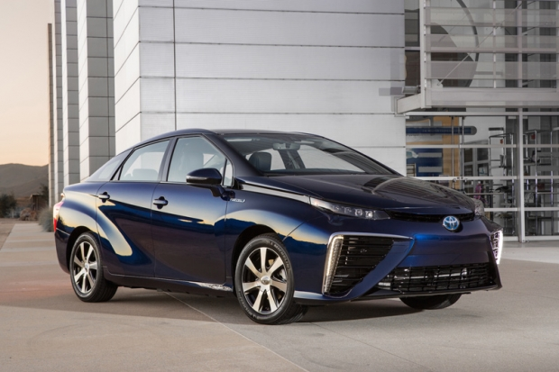 Toyota Mirai FCV - prepared for production