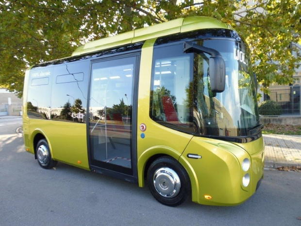 Wolta, Spanish-built electric small city bus
