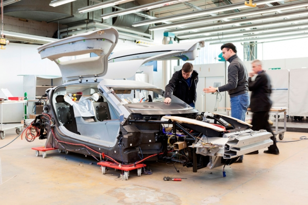 Quant e-Sportlimousine F for 2015 at Geneva Motor Show
