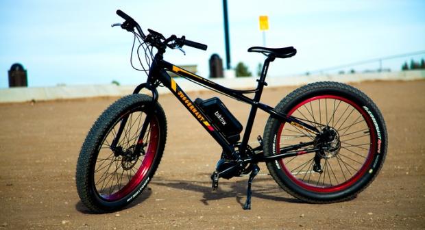 Biktrix Juggernaut electric bike with Kickstarter
