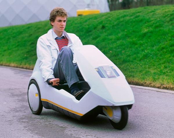El Sinclair C5, icono de la electromovilidad, cumple 30 años