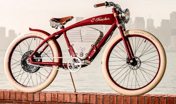 Vintage Electric Bike E-Tracker