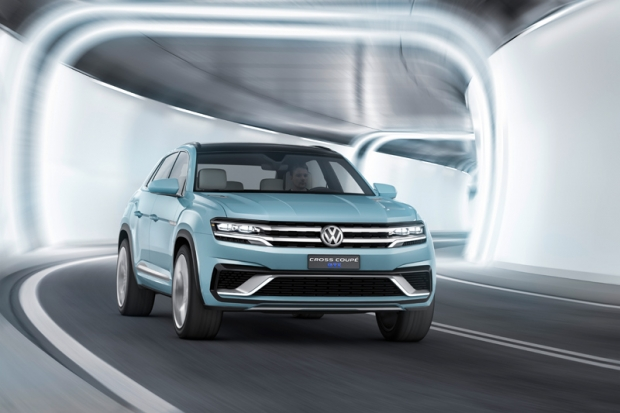 Volkswagen Cross Coupe GTE plug-in hybrid in Detroit