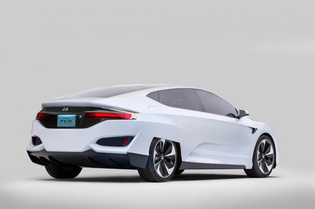 Honda FCV Concept new generation