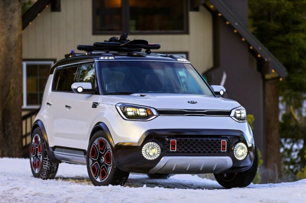 Kia presents ist Trail ster Concept at Chicado Motor Show