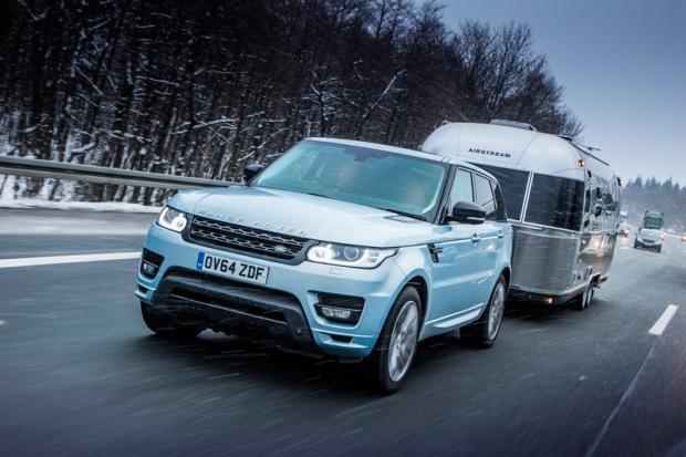 Range Rover Hybrid prueba en el Círculo Polar