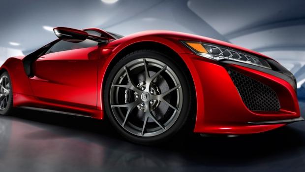 Honda NSX Hybrid Sport at Geneva