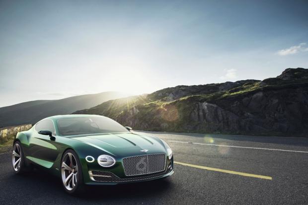 Bentley presenta un deportivo dos plazas con tracción híbrida