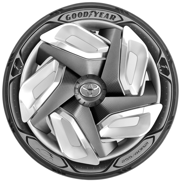Goodyear neumático genera electricidad