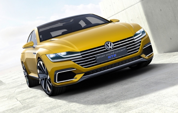 Volkswagen presents Concept GTE with plug-in hybrid drive