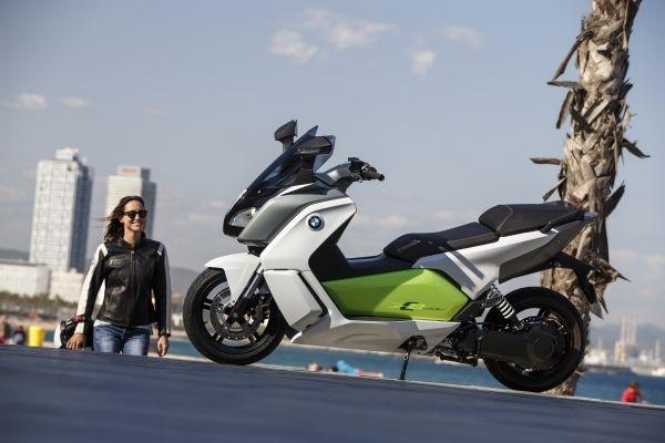 Una flota de BMW Scooter eléctrico para Barcelona