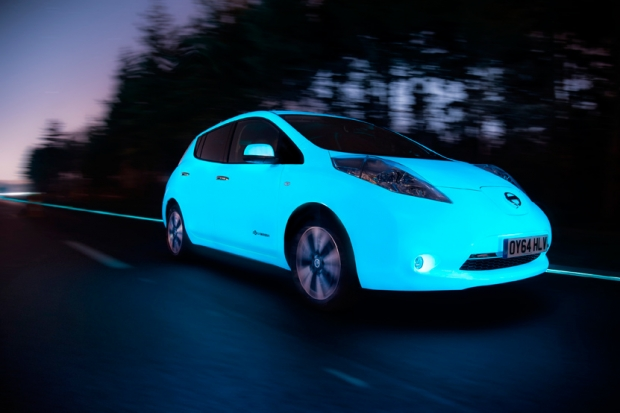 Nissan Leaf and the intelligent highway