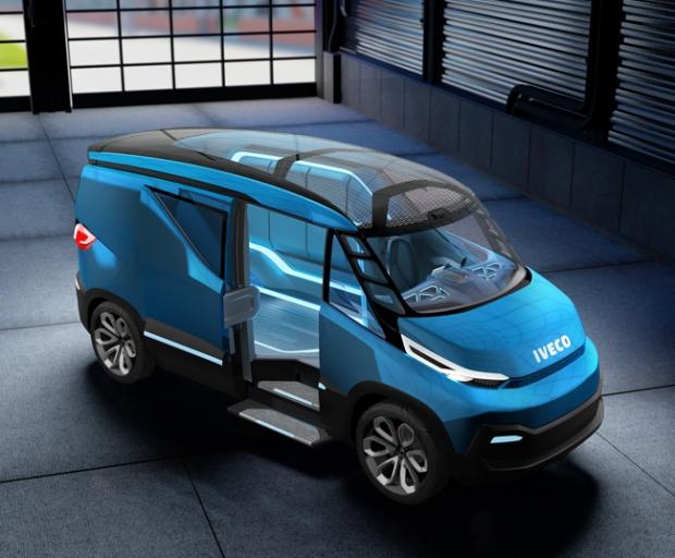 Iveco presenta con el Vision la furgoneta del futuro