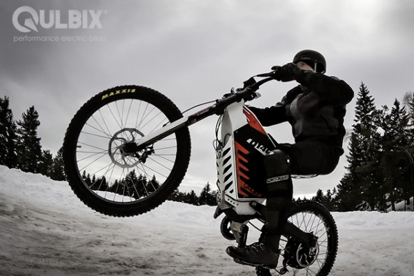 Qulbix, monstruosa bicicleta eléctrica