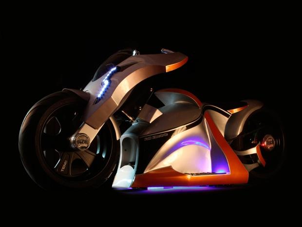 TEM01, futuristic electric bike