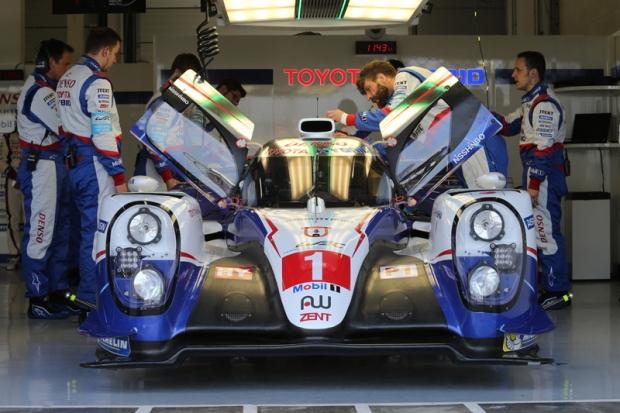 Toyota Gazoo racing in Spa