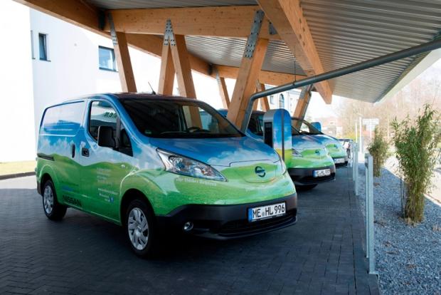 Una panaderia alemana compra flota de vehículos eléctricos