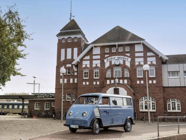 Audi restaura una furgoneta eléctrica DKW