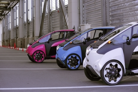 Toyota i-Road Open Road, looking for creative inputs