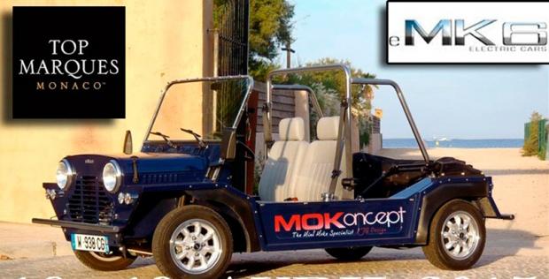 An Electric Mini Moke From New Prestige Electric Car