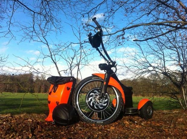 Qugo, desde Holanda con tres ruedas