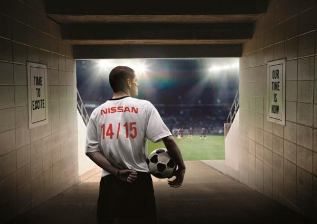 Nissan electrifying UEFA Champions League at Berlin