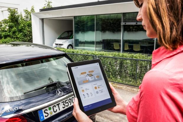 Acumuladores eléctricos de Daimler