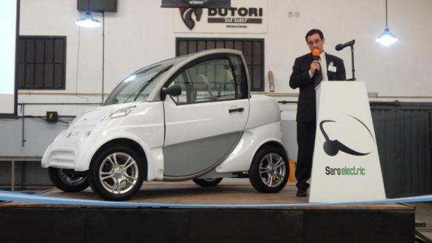 Primer automóvil eléctrico argentino