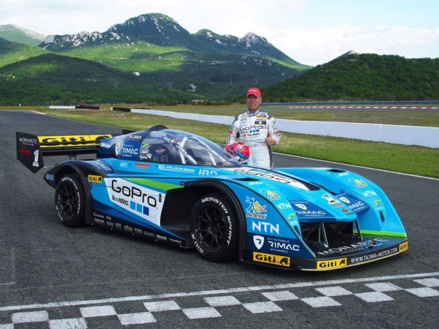 It is official Tajima teams up with Rimac for Pikes Peak 2015
